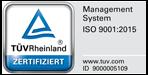 ISO 9001 TÜV Zertifizierung