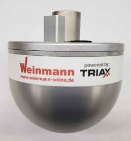 Wireless TRIAX HIC impact testing system